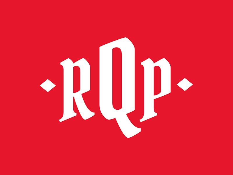 RQP - Rap Quote Post Interface logo ui ux illustration adobe illustrator design interface