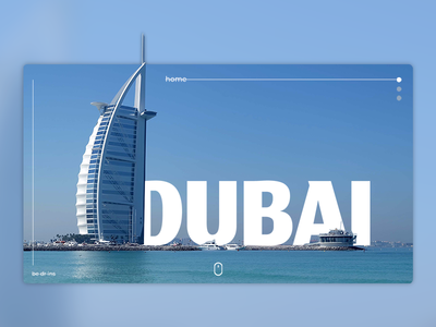 Dubaï interface ui  ux ui ux branding identity flat adobe design minimal webdesign illustration photoshop interface design