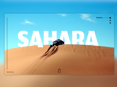 Sahara interface web typography white ui ux adobe branding identity illustration design