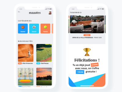 [UI design] maaates mobile app design mobile design mobile ui app basketball app design football tennis sport photoshop illustrator ui ux ui design uidesign interface sketch adobe design ui