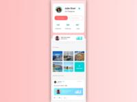 [UI Design] User Profil