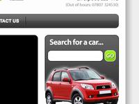 Website for a car trader