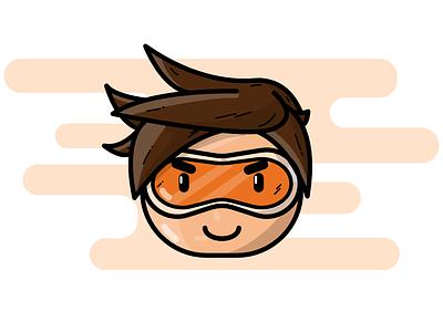 Tracer vector design icon illustration flat
