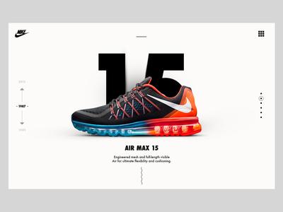 Nike Air Max Case Study  nike air max swosh website case study nike air history