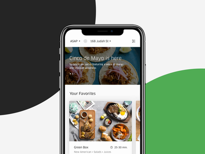 Uber Eats Ceramic web mobile ui  ux uber eats motion framework style guide ui kit design system ui
