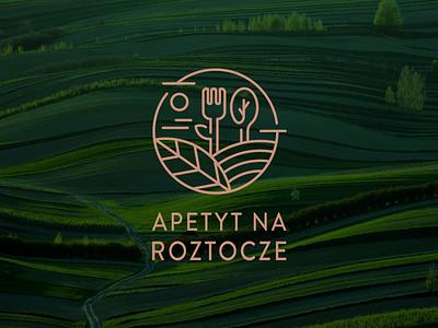 Apetyt na Roztocze nature nature logo eko shop restaurant food appetite identity vector branding logo
