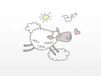Good Mood Sheep