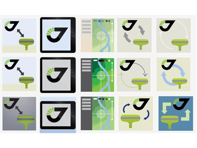 Work With Icon icon illustration work process javad