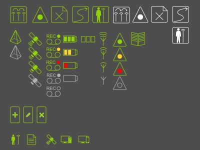 Interface Icons icon illustration work