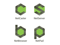 4 Logos For Similar Apps