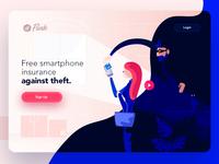 Free smartphone insurance