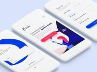 Flink - Sign up form and illustration - First Version