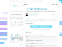 Box Shadows Css Webpage