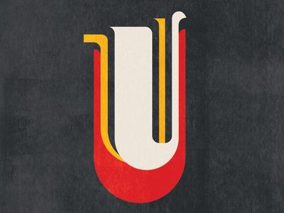 U have many layers. u typography type 36daysoftype