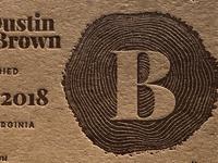 Letterpress invites...B