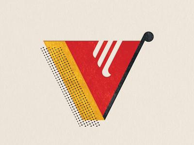 Va va voom. v typography type 36daysoftype