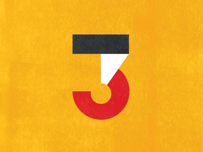 Three 3 typography type 36daysoftype