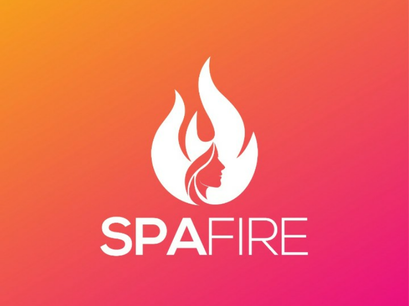 Fire Template | Spa Fire Business Abstract Colorful Logo Design Template By