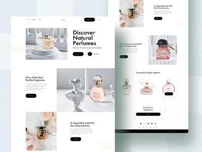 Perfume  - Ecommerce Exploration ecommerce app perfume bottle ecommerce design shopify store shopify product page online store ecommerce shop fragrance perfume ecommerce
