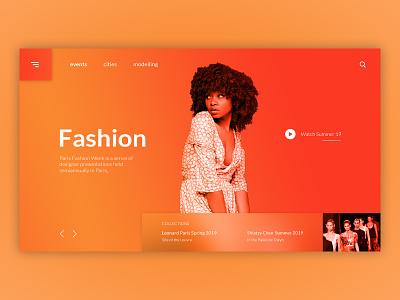 Paris Fashion Week Concept app ux logo illustration icon branding vector typography ui web flat simple minimal clean webdevelopment webdesigner webdesign graphicdesign design business