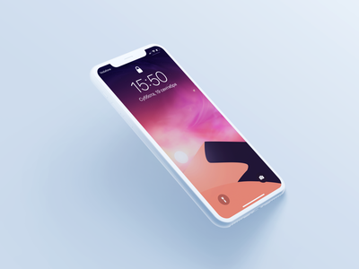 Abstracted landscape mockup ios wallpaper texture photoshop vector minimal iphone11promax iphone ipad illustrator illustration homescreen graphic drawing design colorful background apple