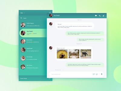 Direct Messaging - DailyUI 013 ui design 013 dailyui direct messaging