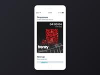 Frenzy iOS app