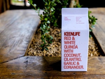 Keenlife Packaging packaging packaging design graphic processing generative design