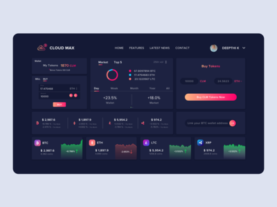 Crypto - Dashboard
