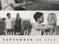 Save the Date - Laura & Doug