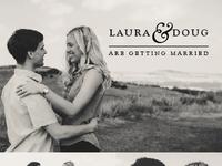 Save the Dates - Laura & Doug