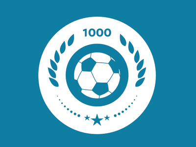 Arsen Wenger - 1000 Games football soccer arsen wenger arsenal icon flat logo