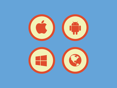 Native and web icons icons native web apple windows android flat fontawesome