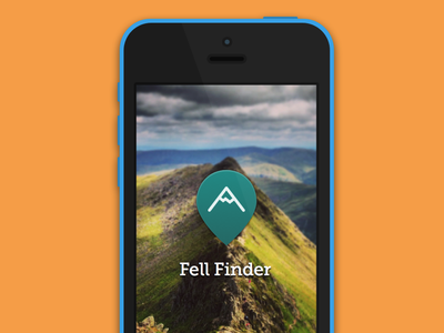 Fell Finder mountains hills fells peaks poi point of interest pin iphone location