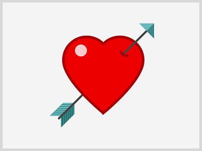 Heart heart arrow love