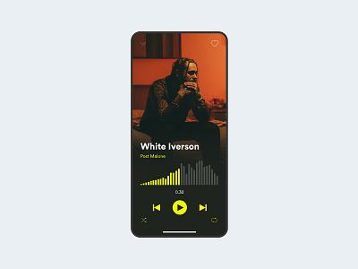 Daily ui music player music app dailyui daily ui