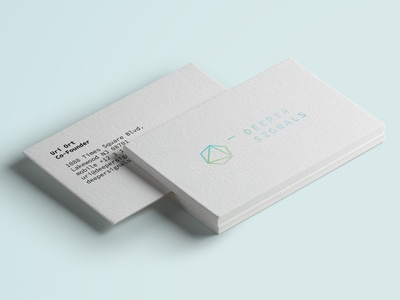 Business Cards for Deeper Signals