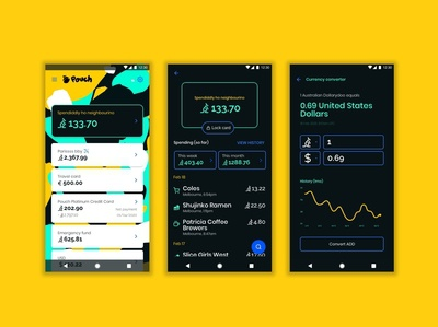 Pouch Australian Neobank australia fintech neobank finance banking dollarydoo aos android