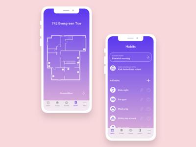 Sanctuary - Rooms/Habits ios11 smart home