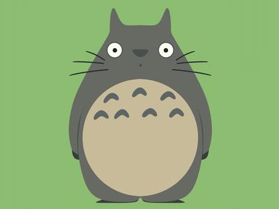 Totoro - 3d model - Fan art