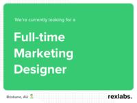 Full-time Marketing Designer