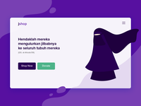 Jshop Landing Page Illustration