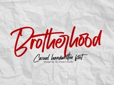 Brotherhood font quote instagram web branding fashion handwriting brand design typography brand identity font design