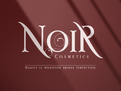 Rome Ionic lettering glamour game style cosmetic fashion brand design typography brand identity font design