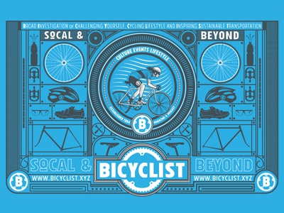 Bicyclist Event Booth banner