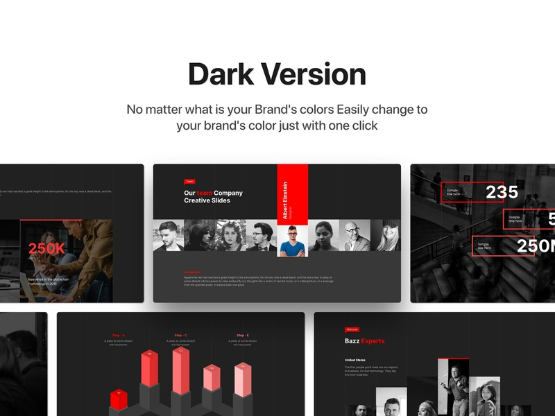 Bazz - Animated Powerpoint Template ppt design free powerpoint template free presentation free keynote free template template free powerpoint keynote presentation