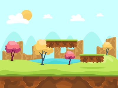 Game Background vector background game