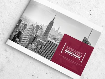 Architecture Business Brochure clean catalog brochure booklet album a4 12 pages