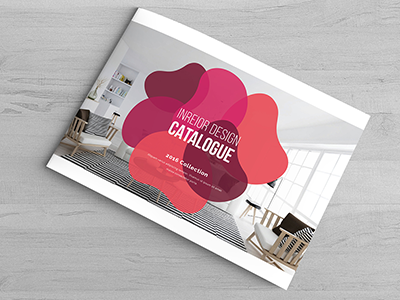 Colorful Brochure customizable creative corporate company cmyk clean catalog brochure booklet album a4 12 pages