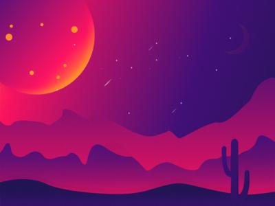 Space 2.0 artwork sketch app purple space art illustraiton vector vector artwork 2d art